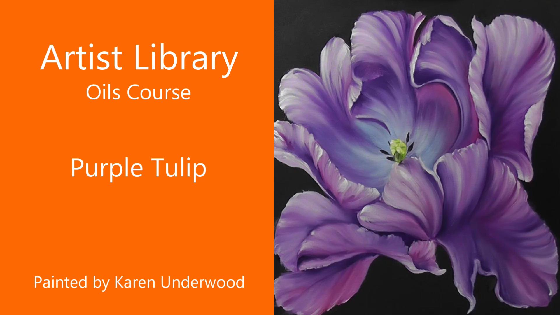 Purple Tulip – Preview