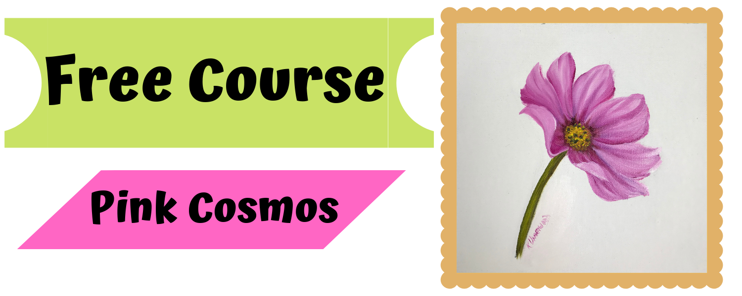 Free Course – Pink Cosmos Oils