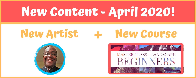 New Content – April 2020