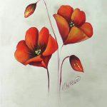 Blush Poppy (Acrylic)