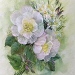 Musk Roses (Acrylic)