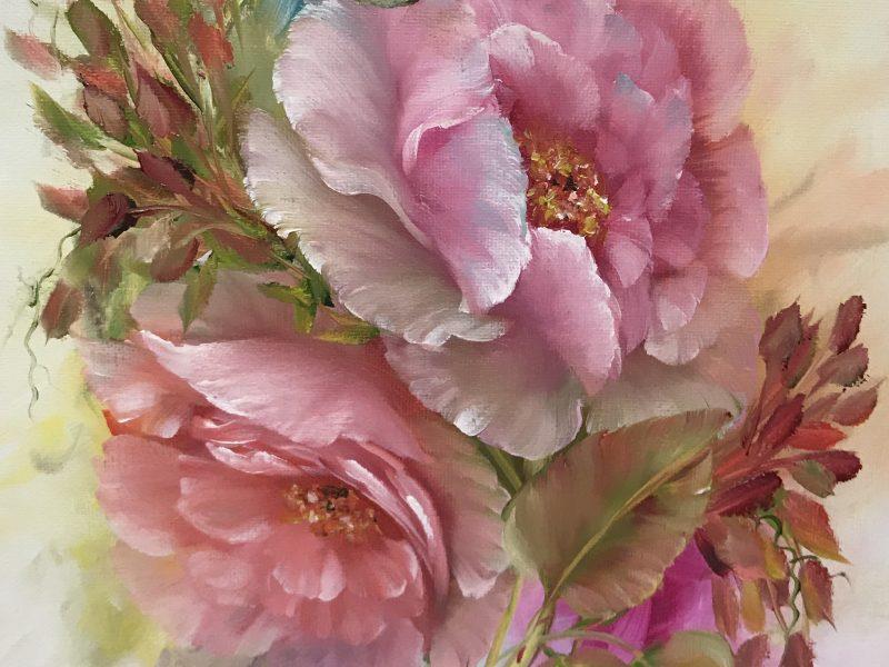 Pink & Peach Roses